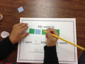 how many letters are in your name counting teaching ace